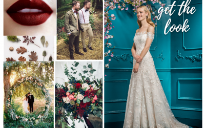 3 Autumnal Wedding Dresses Trends